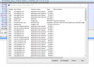 HTTP object list