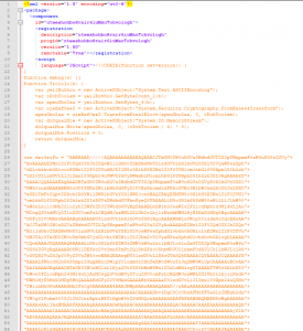 JScript header