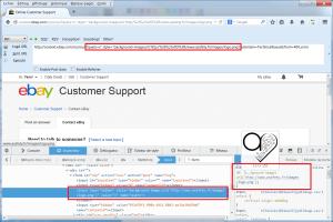 eBay CSS injection PoC