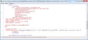 NASA directreadout RXSS/SQLi source code