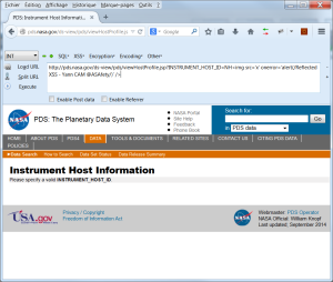NASA PDS RXSS patch