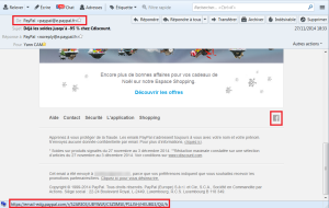 Correction de la vulnérabilité Open-Redirect dans les emails PayPal