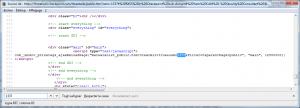 OEM ID injecté dans une fonction JavaScript