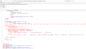 index.php source code leak