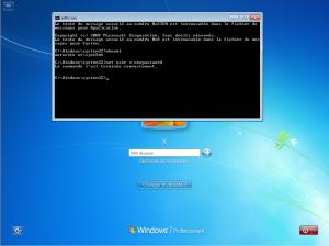 Escalade de privilège avec sethc sous Windows 7