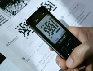 Lecteur de QRcode sur Smartphone